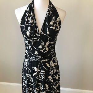 White House Black Market Dresses - White House black market halter dress